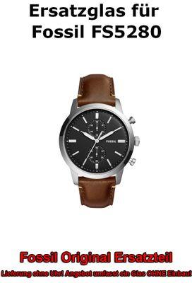 Ersatzglas für Fossil-Uhr 44Mm Townsman FS5280 original Uhrenglas