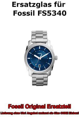 Ersatzglas für Fossil-Uhr Machine FS5340 original Uhrenglas