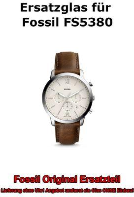 Ersatzglas für Fossil-Uhr Neutra Chrono FS5380 original Uhrenglas