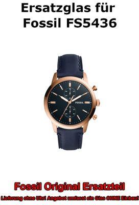 Ersatzglas für Fossil-Uhr 44Mm Townsman FS5436 original Uhrenglas