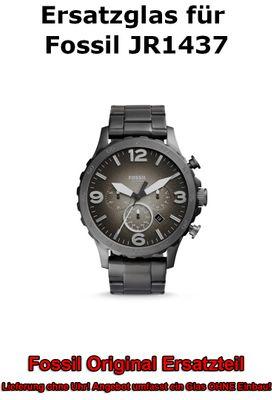 Ersatzglas für Fossil-Uhr Nate JR1437 original Uhrenglas