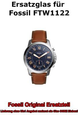 Ersatzglas für Fossil-Uhr Q Grant FTW1122 original Uhrenglas