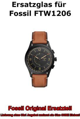 Ersatzglas für Fossil-Uhr Q Activist FTW1206  FTW1207 original Uhrenglas