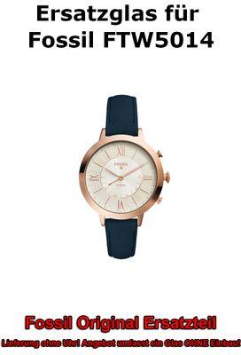 Ersatzglas für Fossil-Uhr Q Jacqueline FTW5014 original Uhrenglas