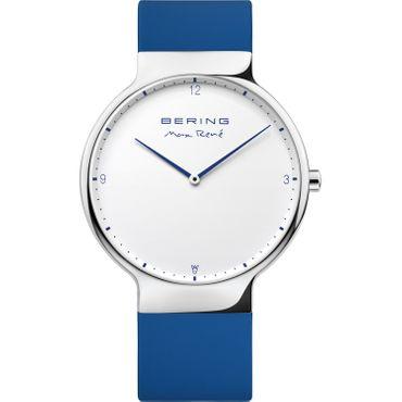 BERING Armbanduhr Viktor Axelsen Analog Quarz mit Wechselbsband 15540-704