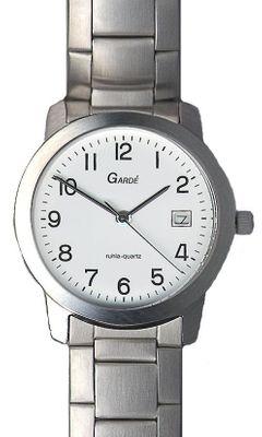 Gardé Herrenuhr Analog Quarz mit Edelstahl-Armband 1220-7M