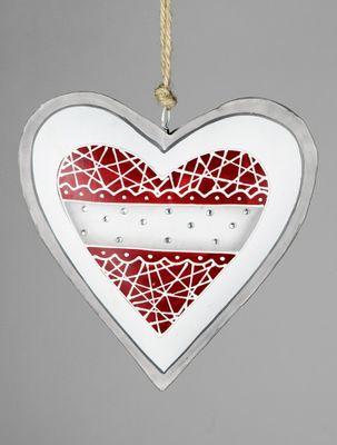 Formano Herz Hänger aus aus Metall; ca. 20cm