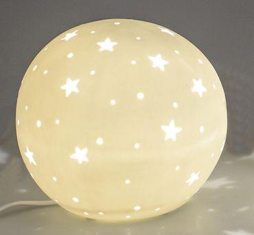 Formano Kugel Lampe Stern-Design; ca.25cm