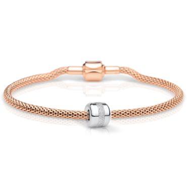 Bering Damen-Armband und Charm aus Edelstahl Charm-Set-132