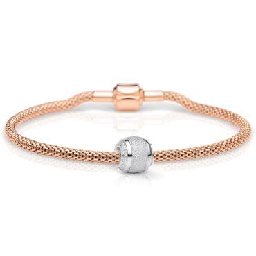 Bering Damen-Armband und Charm aus Edelstahl Charm-Set-133