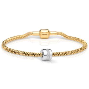 Bering Damen-Armband und Charm aus Edelstahl Charm-Set-137