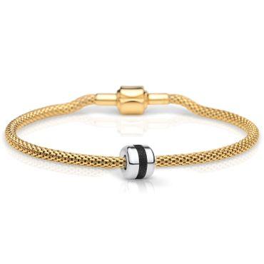 Bering Damen-Armband und Charm aus Edelstahl Charm-Set-139