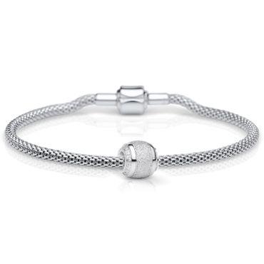 Bering Damen-Armband und Charm aus Edelstahl Charm-Set-140
