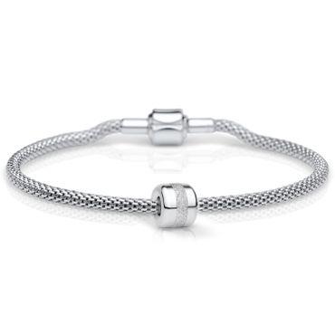 Bering Damen-Armband und Charm aus Edelstahl Charm-Set-142