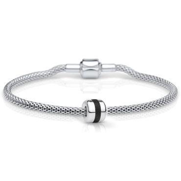 Bering Damen-Armband und Charm aus Edelstahl Charm-Set-143