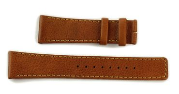 Uhrenarmband für Boccia 3210-02 Ersatzband Leder ohne Schließe