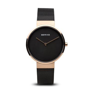 BERING Damen-Armbanduhr Analog Quarz Edelstahl 14531-166
