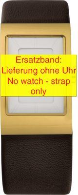 Bering original Ersatzband Leder schokobraun für 10222-534