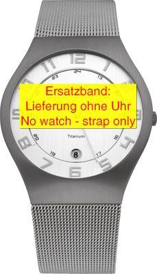 Bering original Ersatzband Edelstahl-Mesh Milanaise für 11937-000-1