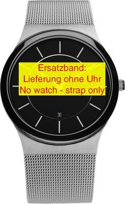 Bering original Ersatzband Edelstahl-Mesh Milanaise für 32239-047