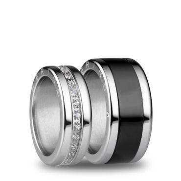BERING Trauring-Kombination Wedding Nyborg