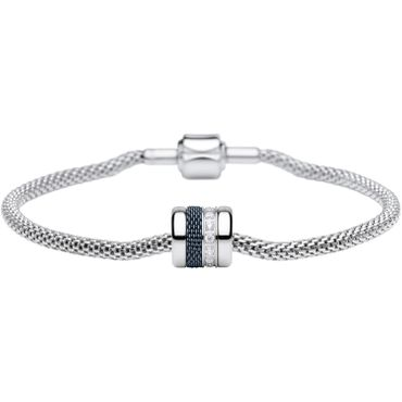 Bering Damen-Armband und Charm aus Edelstahl Soulful Charm-Set-197