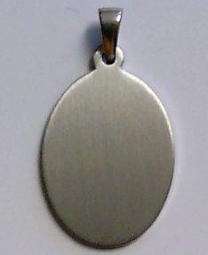 Gravuranhänger Sterling Silber 925 inkl. Gravur PR8261A