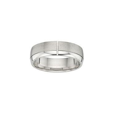 Freundschaftsring Sterling Silber 925 rhodiniert 6,5mm BFR99129