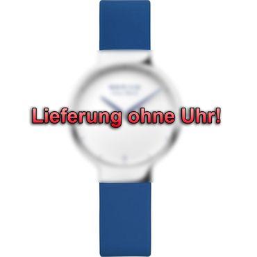 BERING Wechselband für Max René Uhr 15531-XXX (klein) Silikon blau