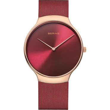 BERING Armbanduhr Limitierte Sonderedition rot rosé 13338-CHARITY