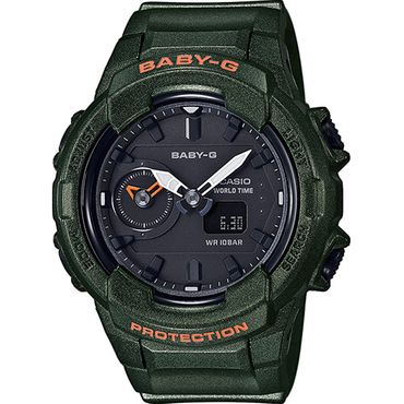Casio Baby-G Damenuhr Analog-Digital Quarz mit Resin-Armband BGA-230S-3AER