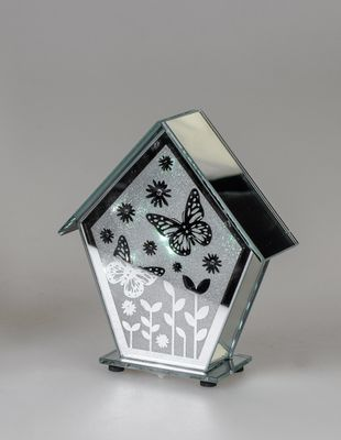 Formano Deko-Licht mit LED, Vogelhaus; ca.16cm