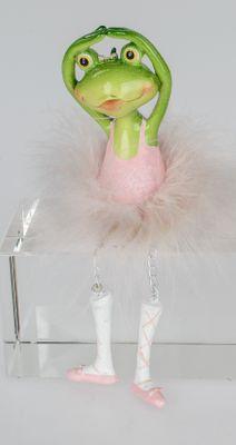 Formano Ballet Frosch Kantensitzer aus Kunststein; ca.17cm         704467A