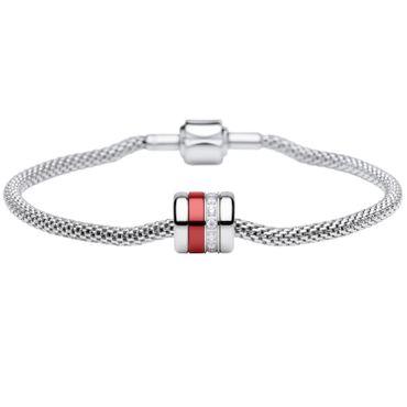 Bering Damen-Armband und Charm aus Edelstahl Reliable Charm-Set-210