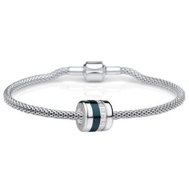 Bering Damen-Armband und Charm aus Edelstahl Friends4Ever Charm-Set-214