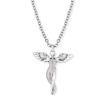 Engelsrufer Kette Engel 925 Silber 15 mm 40+4 cm