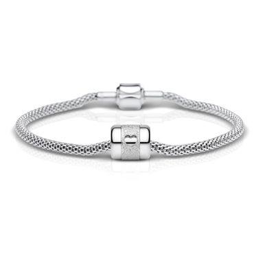 Bering Damen-Armband und Charm aus Edelstahl YouandMe Charm-Set-220