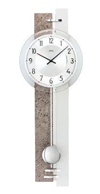 Moderne Pendeluhr Analog Quarz 23x67x7cm 7440