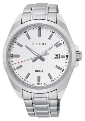 Seiko Herrenuhr Analog Quarz SUR273P1