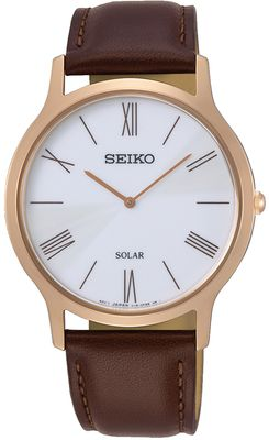 Seiko Herrenuhr Analog Quarz Solar SUP854P1