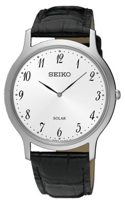 Seiko Herrenuhr Analog Quarz Solar SUP863P1