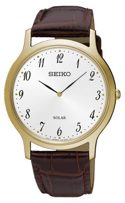 Seiko Herrenuhr Analog Quarz Solar SUP860P1