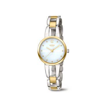 Boccia Damenarmbanduhr Analog Quarz mit Titan-Armband 3290-02