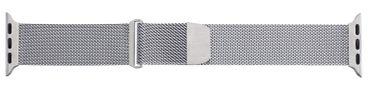 Milanaise Uhrenarmband Edelstahl mit Magnetverschluss geeignet für Apple Watch 40mm / 44mm