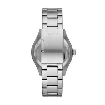 Fossil Herren-Armbanduhr BELMAR Analog Quarz mit Edelstahl-Armband FS5530
