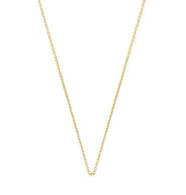 Les Georgettes Halskette Forcat vergoldet 50/53cm