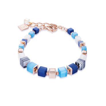 Coeur de Lion Armband blau-türkis 4963/30-0706