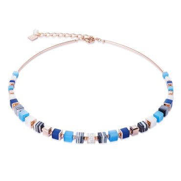 Coeur de Lion Collier blau-türkis 4963/10-0706