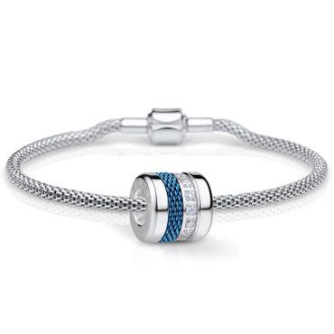 Bering Damen-Armband und Charm aus Edelstahl Charm-Set-234