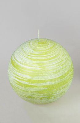 Formano Kugel Kerze Pure grün; ca. 8cm